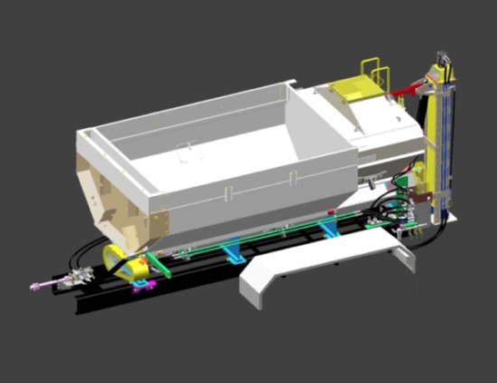 Gunnite Truck Body 3D Model
